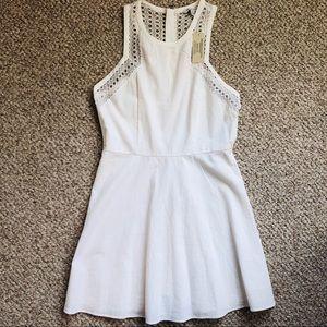 NEVER WORN AE white dress